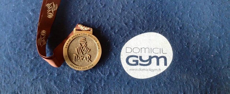 Domicil'Gym présent au Paris-Dakar !