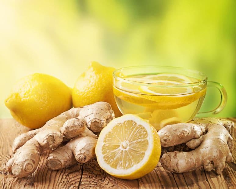 Ma recette DETOX citron / gingembre!