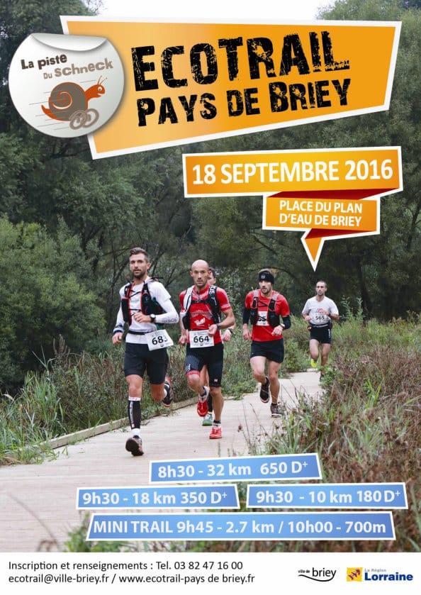 Participez à l'Eco-trail de Briey le 18 septembre 2016
