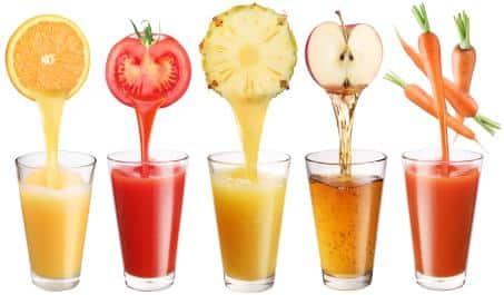Les jus de fruits ne sont pas (que) des fruits.