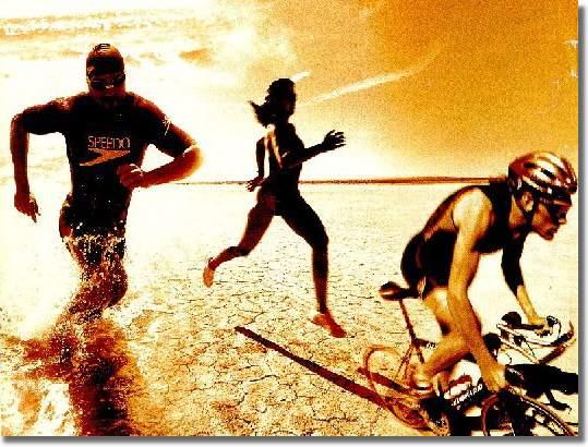 Courir, nager, rouler, le triathlon de l'été