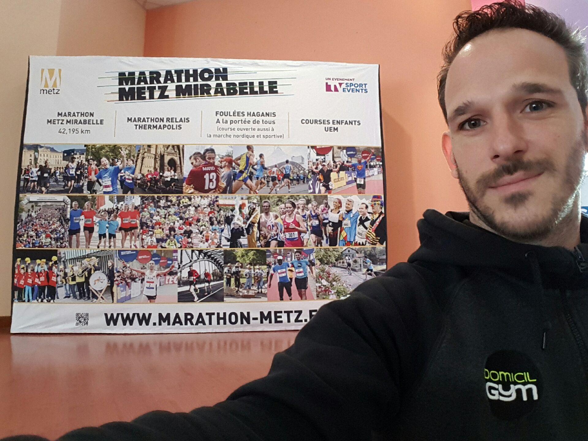Domicil'Gym partenaire du Marathon de Metz 2016!