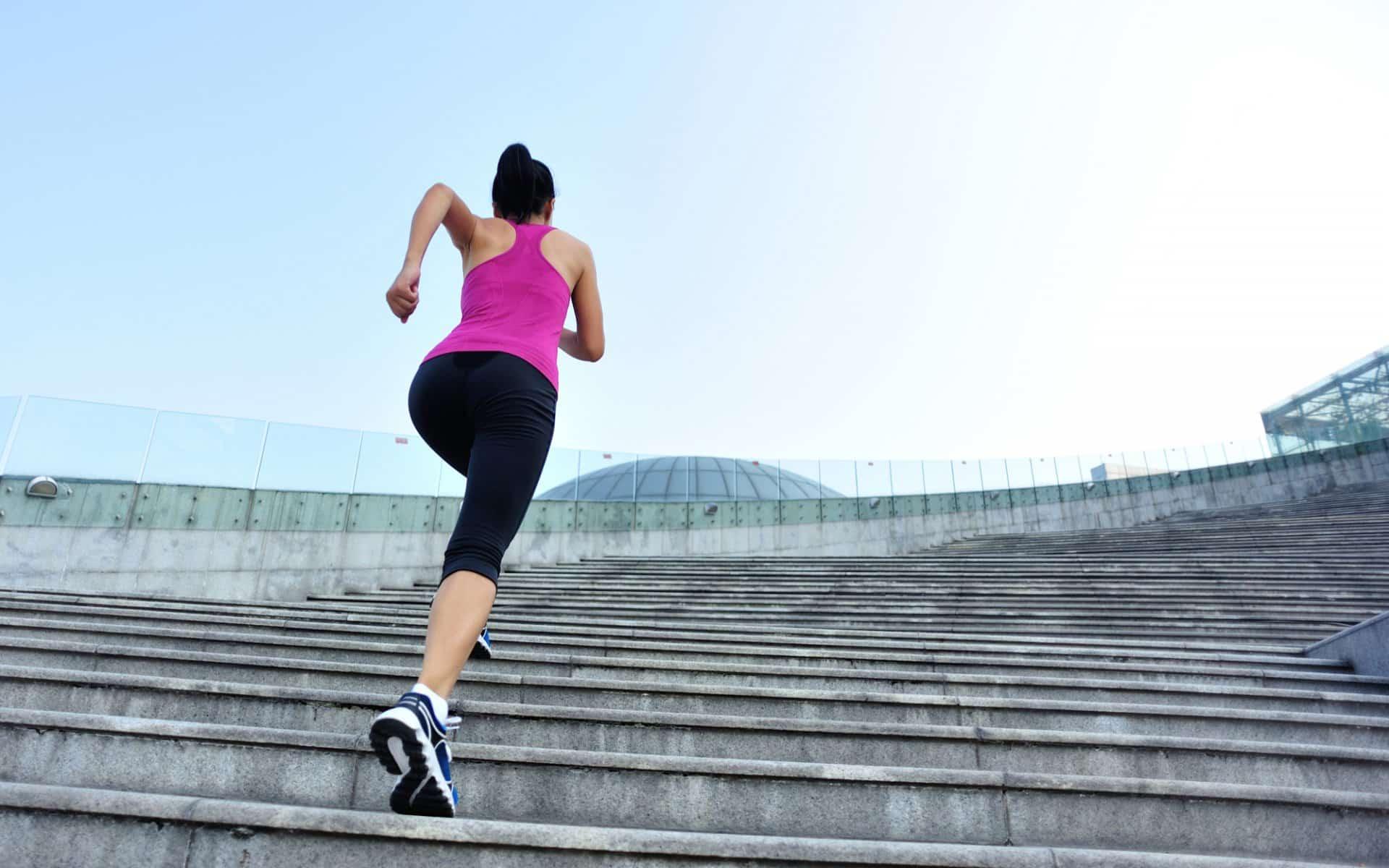 L'entraînement en escalier