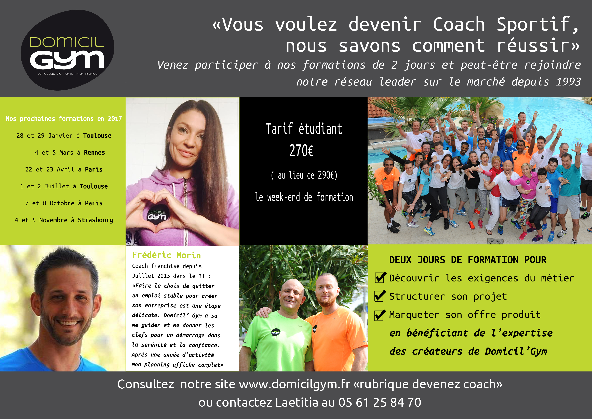 Vous voulez devenir Coach Sportif ?