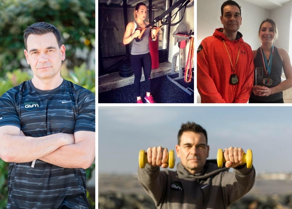 Portrait de Ronan Le Paranthoen : coach sportif DOMICIL'GYM Royan et Rochefort