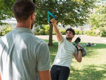 Le TRX : exercices en suspension pour renforcement des muscles profonds